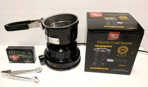Charco Flare top-rated hookah coals heater