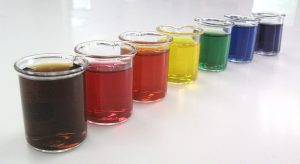 food dye give color to hookah water
