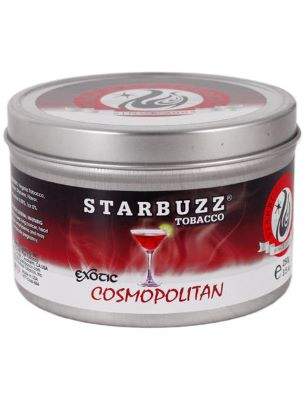 jar of Starbuzz Cosmopolitan shisha