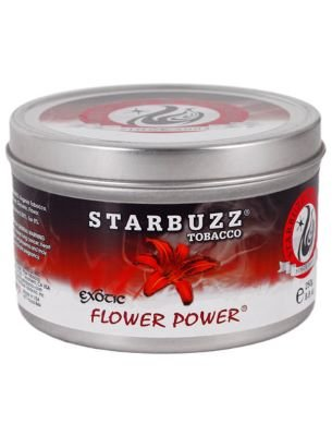 jar of Starbuzz Flower Power shisha flavor