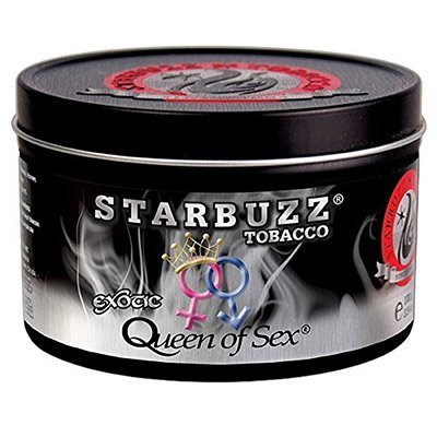 jar of Starbuzz Queen of Sex shisha