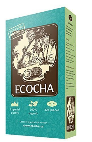 package of Ecocha coconut hookah coals