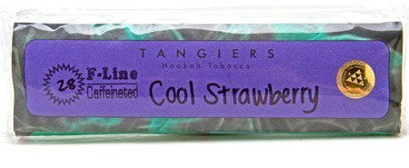 package of Tangiers F Line shisha flavor
